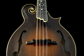 Custom, hand-made mandolin